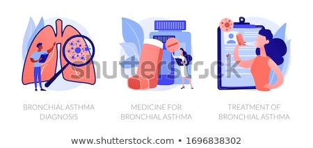 Asthma vector concept metaphors. Stock photo © RAStudio