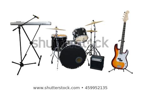 Musical teclado instrumento isolado imagem músico Foto stock © designer_things