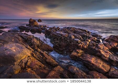 Rugged coastal sunrise Stock photo © lovleah