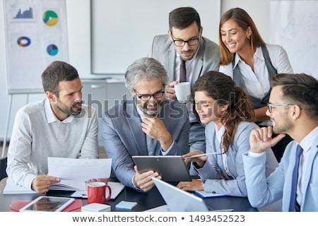 people in consensus Stock photo © 4designersart