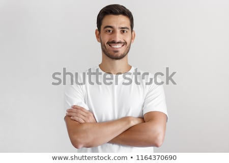 Male with crossed arms. Stock photo © iofoto