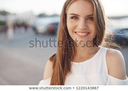 Elegant,stylish dress on a white. Stock photo © lypnyk2