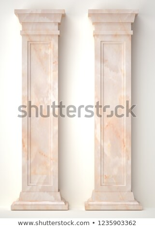 3d antique classic architecture Greek Roman wall render  Stock photo © Melvin07
