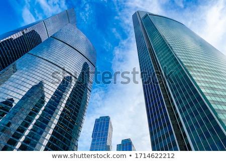 большой зданий небе 3D модель город Сток-фото © digitalstorm