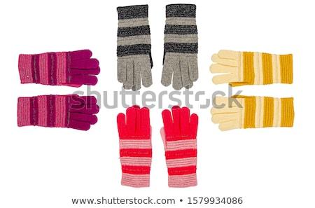 Two white textile glove. Stock photo © boroda