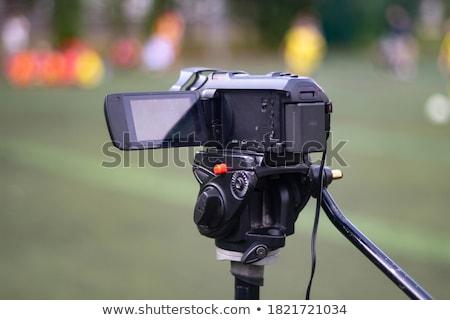 the camcorder Stock photo © njaj