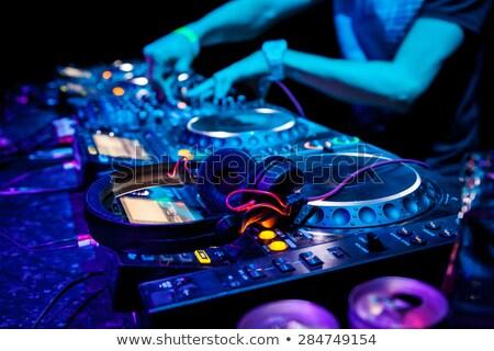 soar · batedeira · música · secretária · estúdio · conselho - foto stock © cozyta