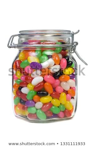 rim · feijões · jarra · comida · vermelho · armazenar - foto stock © foka