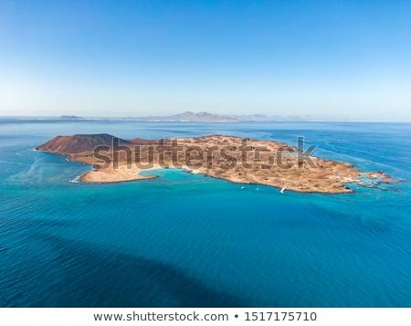 Fuerteventura view from Lanzarote in Atlantic stock photo © lunamarina