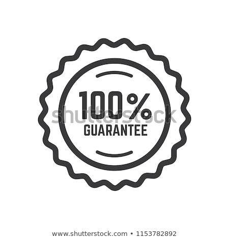 100 guarantee stock photo © raywoo