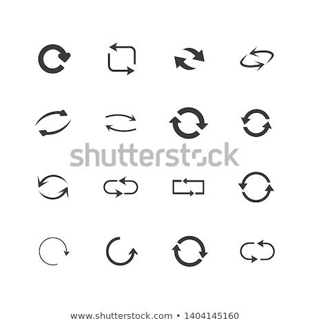 Résumé vert icône design signe Photo stock © rioillustrator