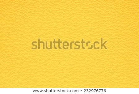Yellow leather background  stock photo © homydesign