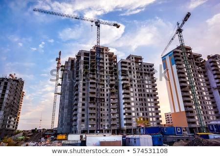 Edifício moderno blue sky Moscou Rússia negócio cidade Foto stock © acidgrey