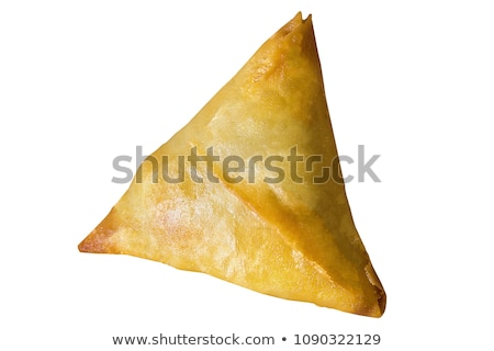 isolated samosa Stock photo © M-studio