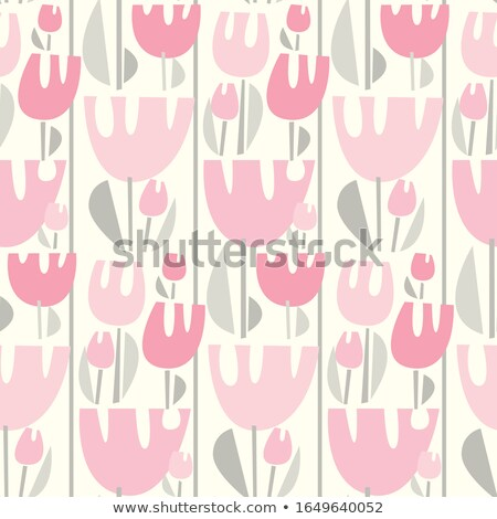 abstract spring floral decorative background vector illustration stock photo © WaD