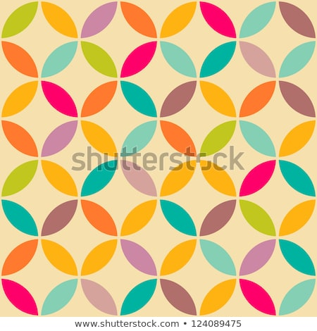 piastrelle · wallpaper · settanta · abstract · design · pastello - foto d'archivio © ikopylov