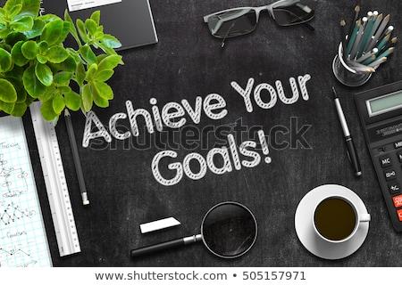 What Are your Goals Chalk Illustration Stock photo © kbuntu