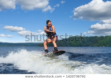 waterskiing stock photo © taden
