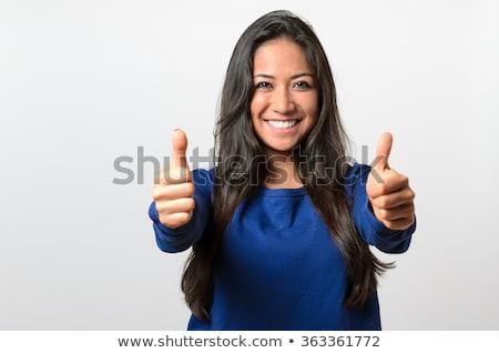 удвоится · улыбаясь · утверждение · успех - Сток-фото © fantasticrabbit