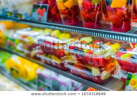 plastic food stock photo © iko
