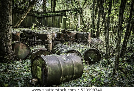 Abandoned radioactiv waste Stock photo © wellphoto