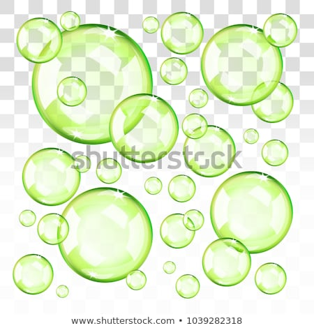 зеленый пузырьки стиральные вверх жидкость фон Сток-фото © latent