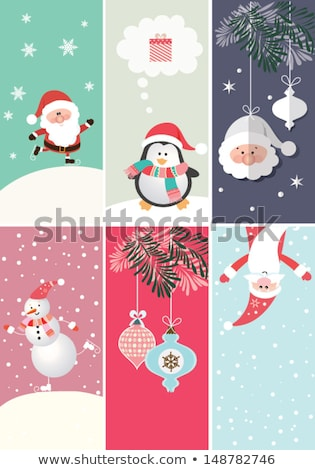 Headers and banners set vector New year 2014 colorful design Stock photo © bharat