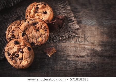 Freshly baked cookies Stock photo © raphotos