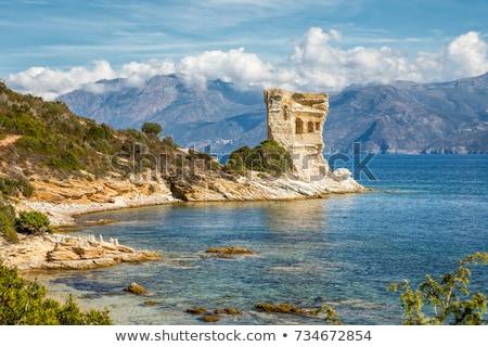 Desert des Agriates and Cap Corse Stock photo © Joningall