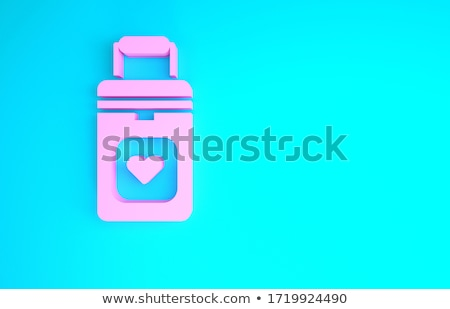 Stock photo: 3d illustration of a human internal organs. Isolated. Contains clipping path