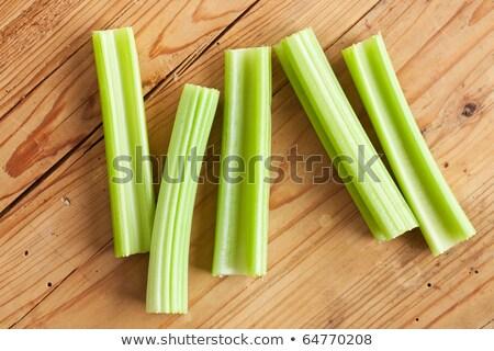green celery sticks on kitchen table Stock photo © jirkaejc