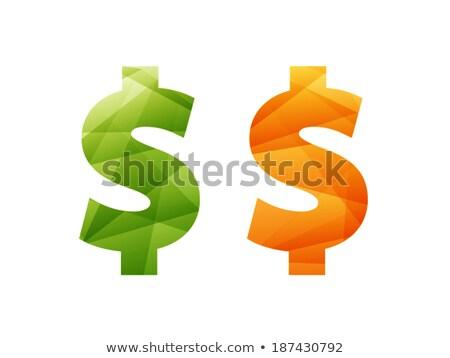 Dólar símbolo moneda inflación financiar intercambio Foto stock © stevanovicigor