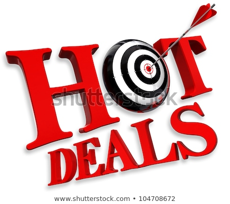 Best Offer - Arrows Hit in Red Mark Target. Stock photo © tashatuvango