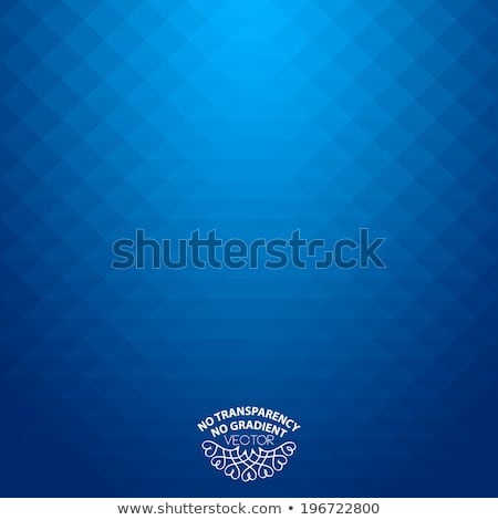 Abstract blue geometric pixel background Stock photo © karandaev