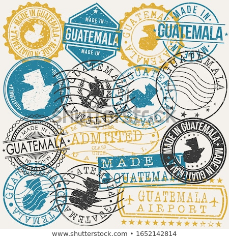 Postage stamp icon of guatemala Stock photo © MikhailMishchenko