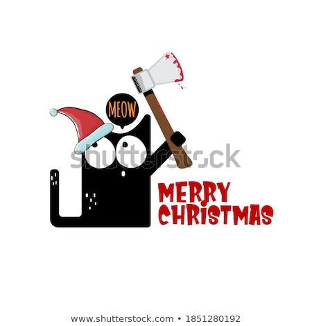Merry Bloody Christmas. Stock photo © Reaktori