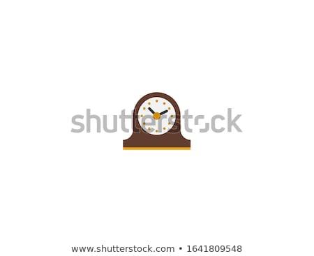 Relógio madeira Foto stock © JamiRae