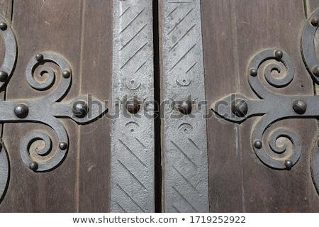 Steel Church Door stock photo © rhamm