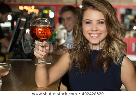 Charming blond woman with fabulous smile Stock photo © majdansky