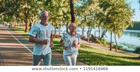 пару бег здоровья ног запустить Сток-фото © photography33