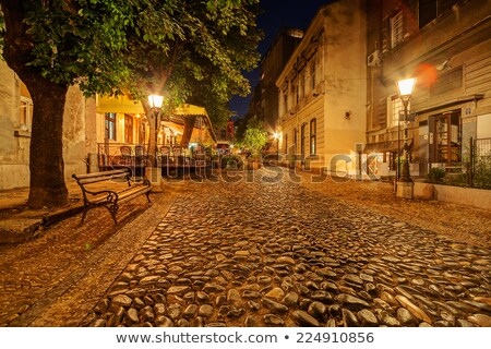 Skadarska street in Belgrade Stock photo © tannjuska