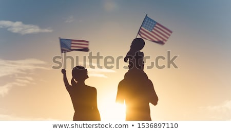 US Immigration Background Stock photo © olgaaltunina