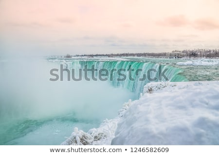 Niagara · Falls · naam · drie · watervallen · internationale - stockfoto © pictureguy
