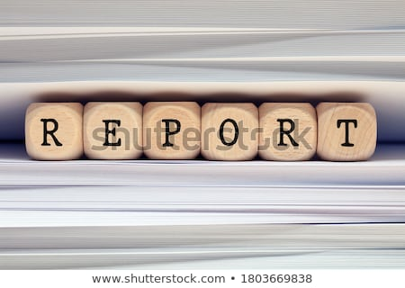 Professionals Concept with Word on Folder. Stock photo © tashatuvango
