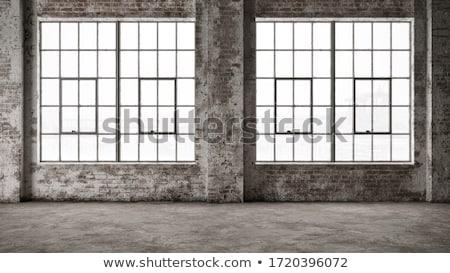 産業 ウィンドウ 古い テクスチャ 建設 都市 ストックフォト © Spectral