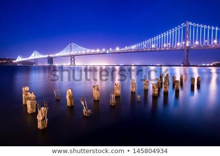 yat · köprü · yelkencilik · otoyol · inşaat · seyahat - stok fotoğraf © capturelight