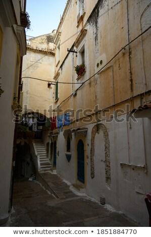 klok · kasteel · Italië · gebouw - stockfoto © taiga