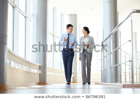 business people in corridor 2 Stock photo © Paha_L