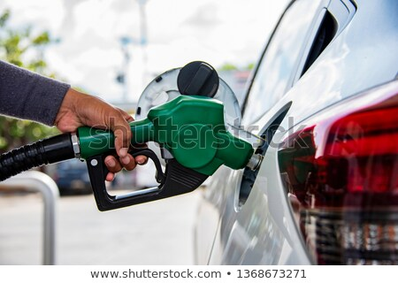 Stock photo: Green Gasoline