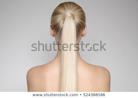 jovem · naturalismo · mulher · pele - foto stock © tommyandone